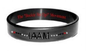 IAAM silicone bracelet