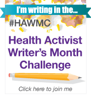 HAWMC_2012_badge im writing in challenge