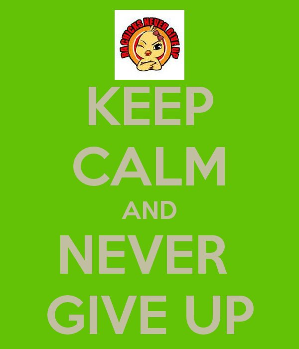 keep calm and never give up battle Rheumatoid Arthritis image